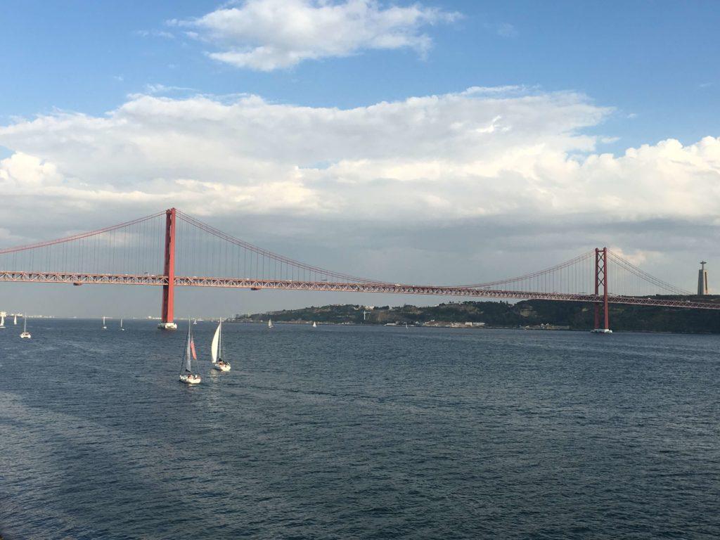 Ponte 25 de Abril - Lisboa  - Roteiro na Mão