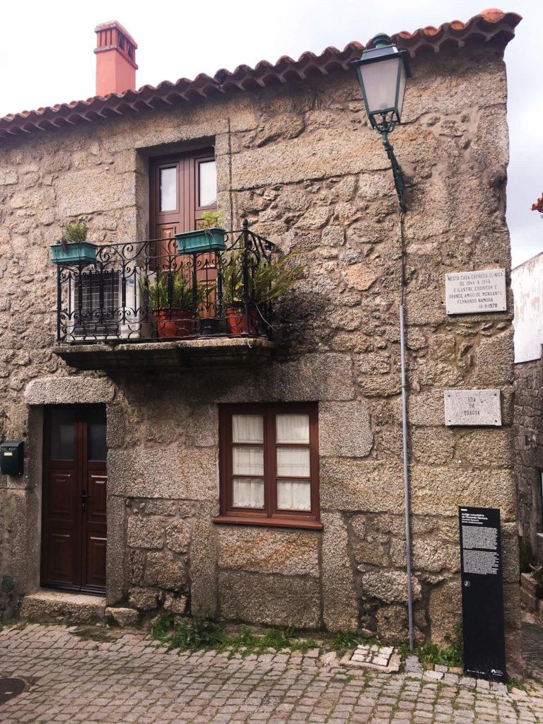 Casa de Fernando Namora - Roteiro na Mão