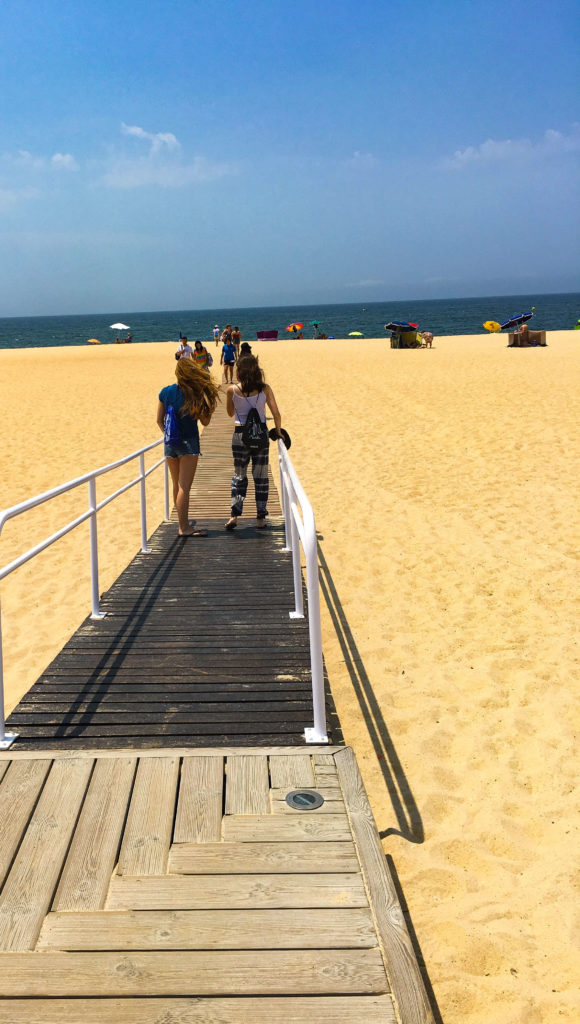 Praia de Nazaré -  Roteiro na Mão