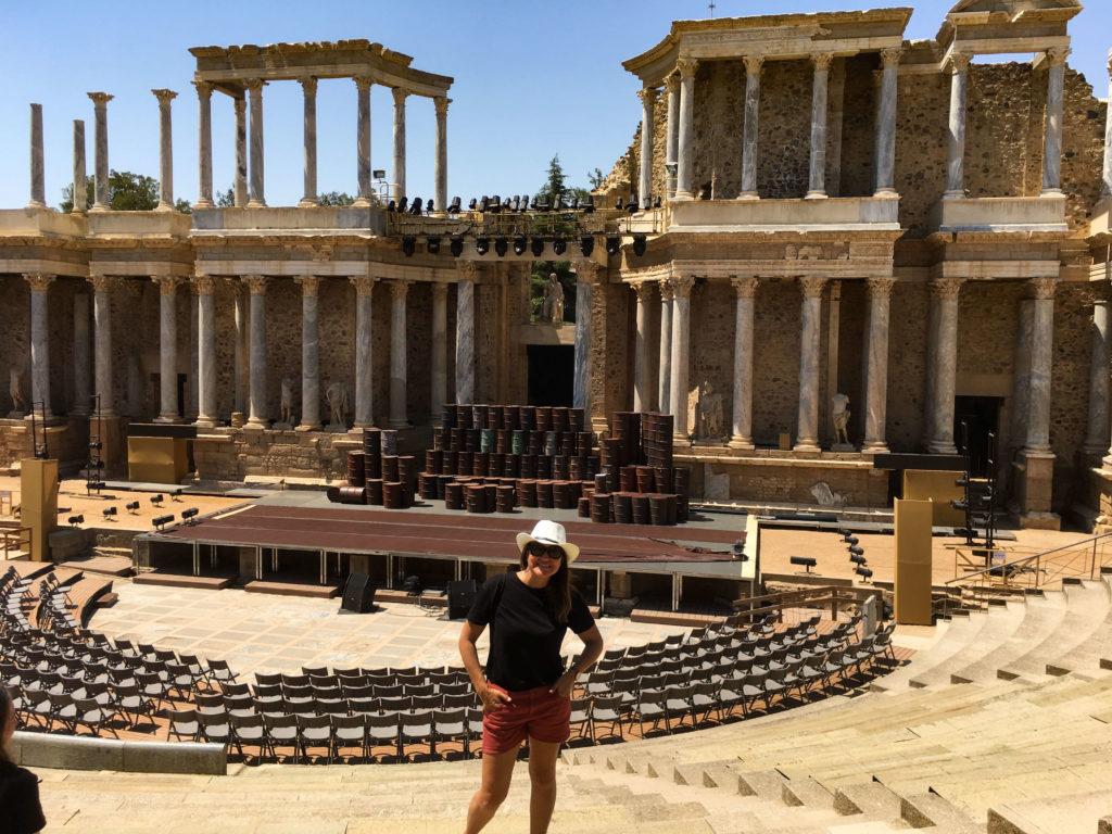 Teatro Romano de Mérida - Roteiro na Mão