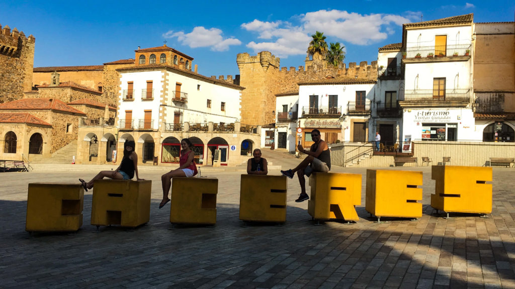 Plaza Mayor - Caceres - Roteiro na Mão